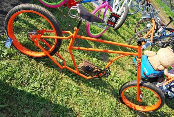 Как сделать велосипед крутой сам