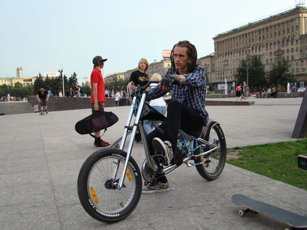 Велосипед чоппер giant stiletto chopper велочоппер black