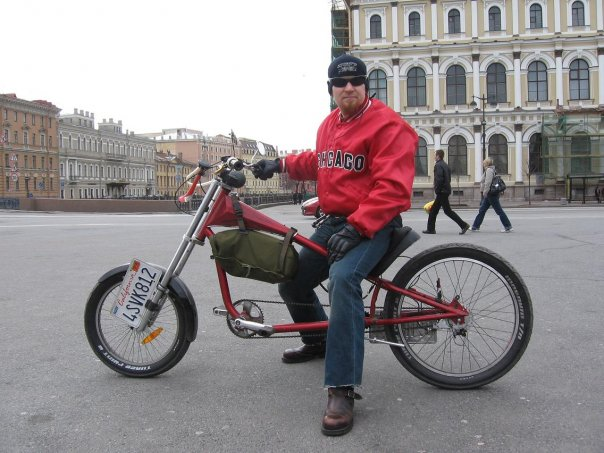 Велосипед чоппер giant stiletto chopper велочоппер red
