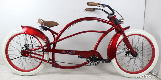 Велосипед чоппер STRETCHEDBIKE ALFABIKE