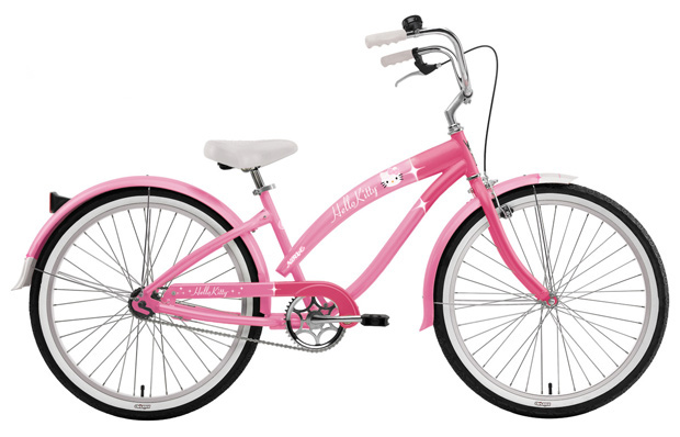 Велосипед круизер велосипеды круизеры Nirve Hello Kitty Retro Kitty Cruiser