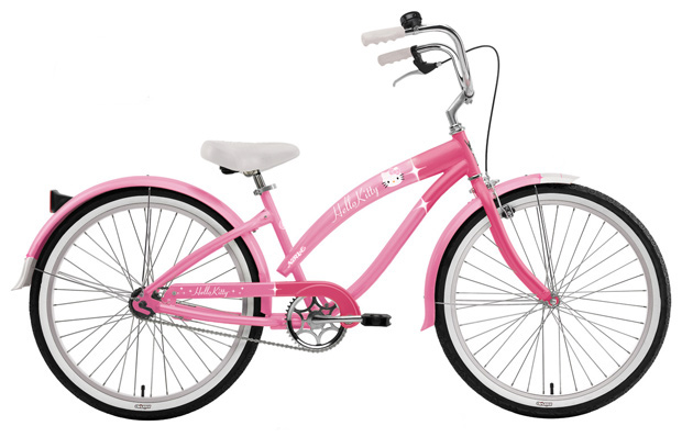 Велосипед круизер велосипеды круизеры Nirve Hello Kitty Retro Cruiser
