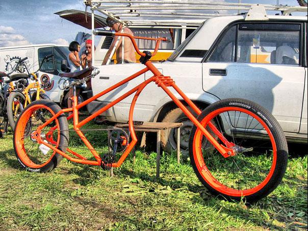 Как сделать свой велосипед своими руками 76