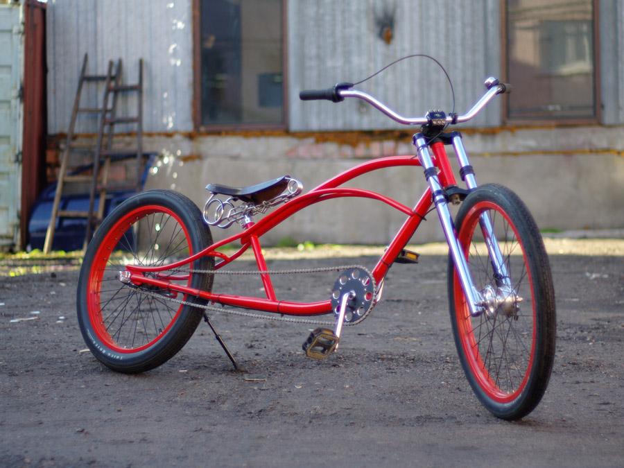 кастом велосипед