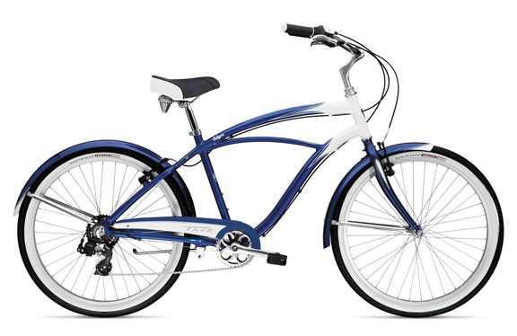 Велосипед круизер Trek Calypso Pearl White/Dark Blue