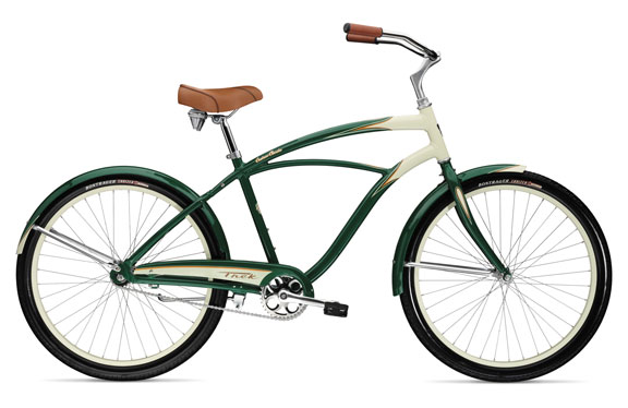 Велосипед круизер Trek Cruiser Classic Ivory/British Green