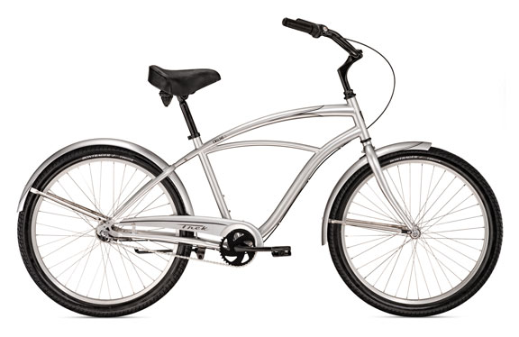 Велосипед круизер Trek Cruiser Classic Steel 3 Metallic Silver