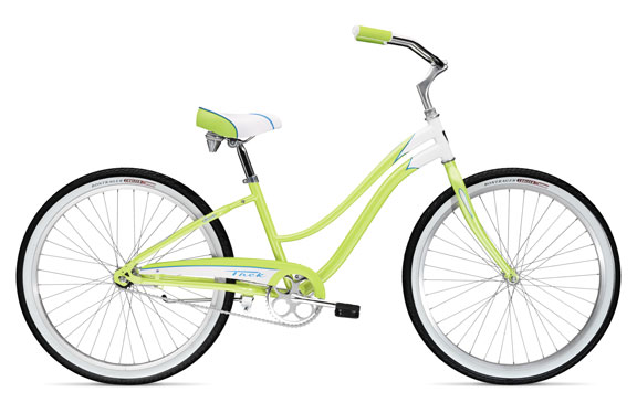 Велосипед круизер Trek Cruiser Classic Steel Women's Pearl White/Metallic Green