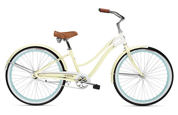 Велосипед круизер Trek Cruiser Classic Women's White/Soft Yellow